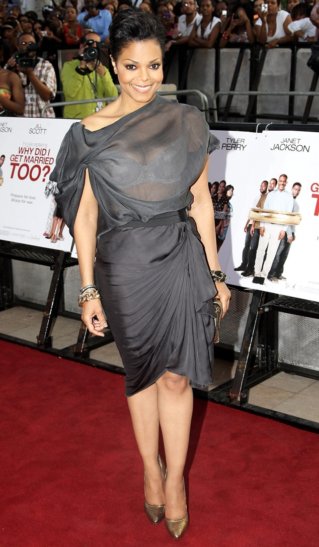 Peek A Boo From Janet Jackson S Best Looks From Red Carpet