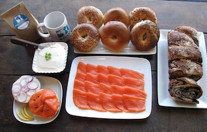 Russ & Daughters Bagels, Father's Day