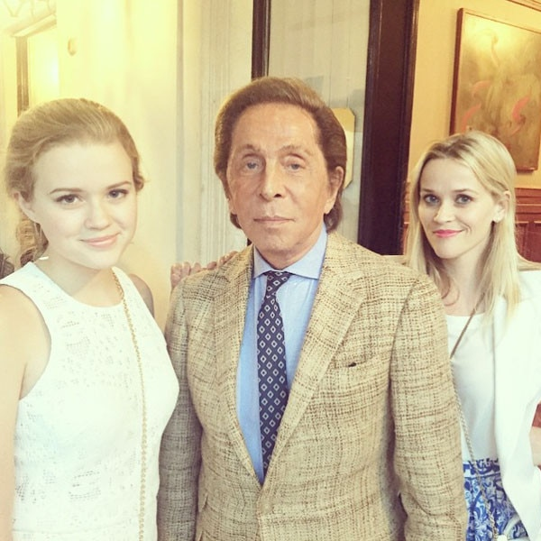 Reese Witherspoon, Ava Phillippe, Valentino