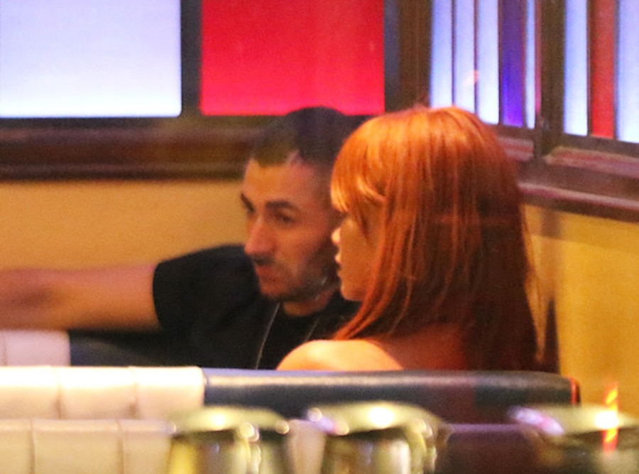 benzema and rihanna relationship news