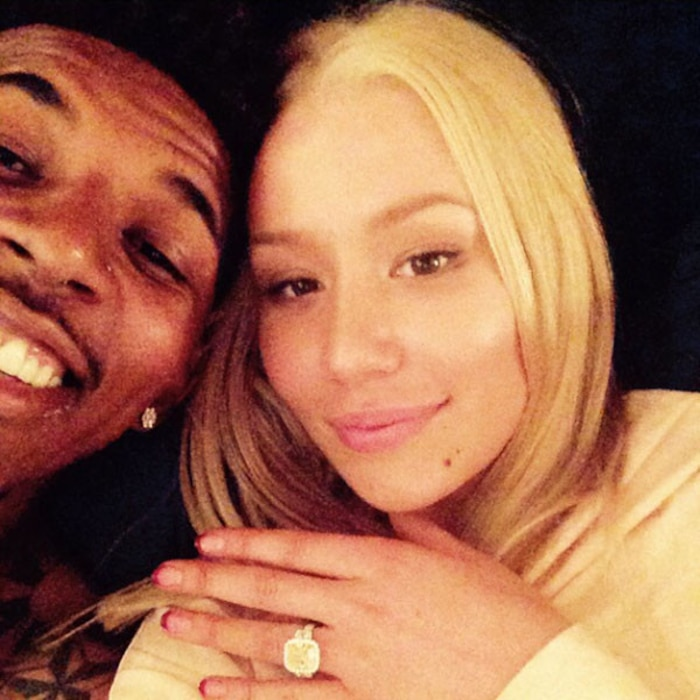Iggy Azalea, Nick Young, Engagement, Instagram