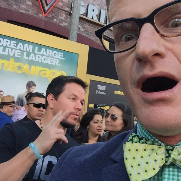 Mark Wahlberg at the Entourage Premiere from Marc Malkin's ... Mark Wahlberg Instagram
