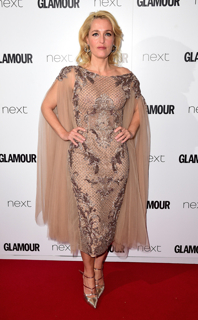 Gillian Anderson, Glamour Women Of The Year Awards