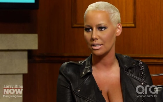 Amber Rose, Larry King Show