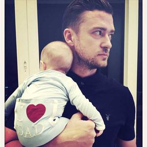 Justin Timberlake, Silas, Instagram