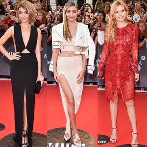 Best Dressed, Sarah Hyland, Gigi Hadid, Bella Thorne, 2015 MuchMusic Video Awards