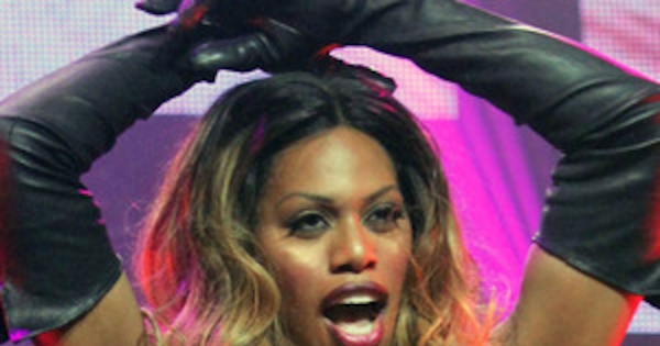 Laverne Cox Wears Nipple Pasties For Wild Broadway Bares