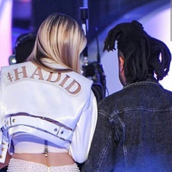 The Weeknd, Gigi Hadid, Bella Hadid, Instagram