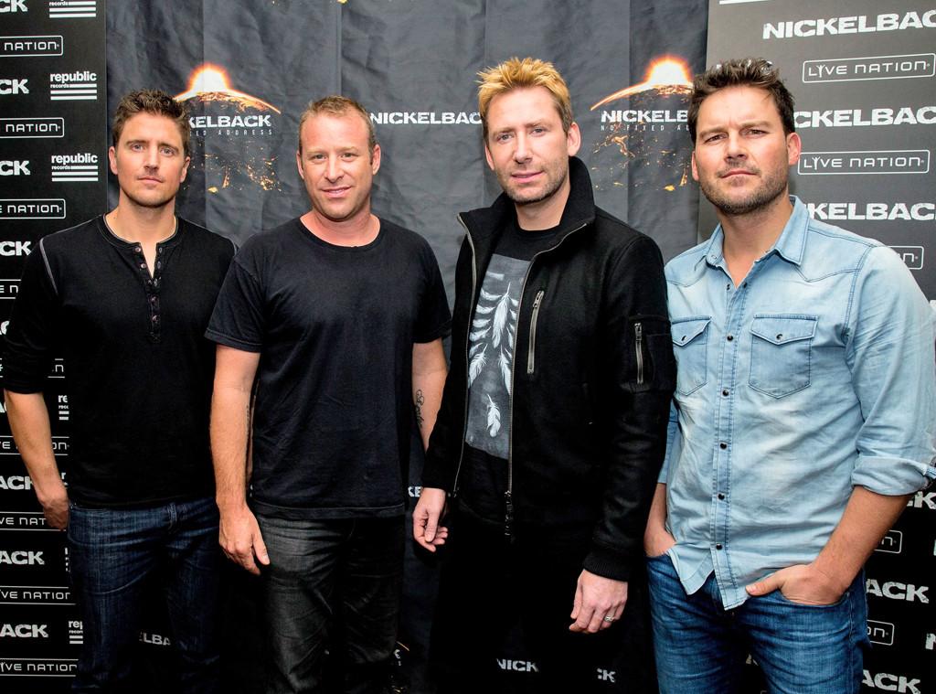 Nickelback, Daniel Adair, Chad Kroeger, Mike Kroeger, Ryan Peake