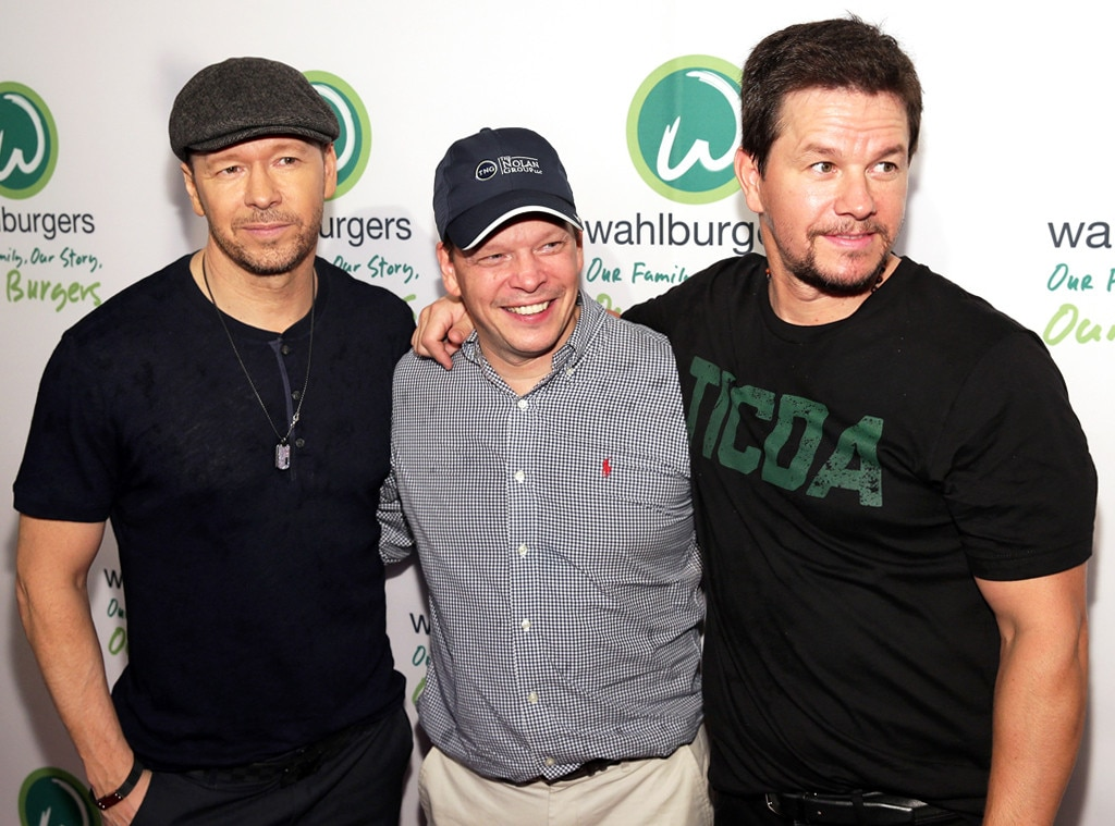 Donnie Wahlberg, Paul Wahlberg, Mark Wahlberg
