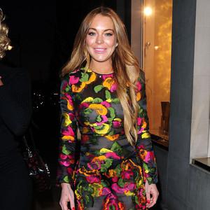 Lindsay Lohan, Louis Vuitton Party