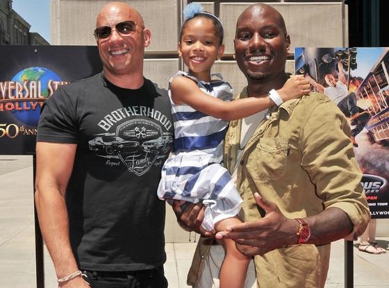 Vin Diesel, Shayla Gibson, Tyrese Gibson
