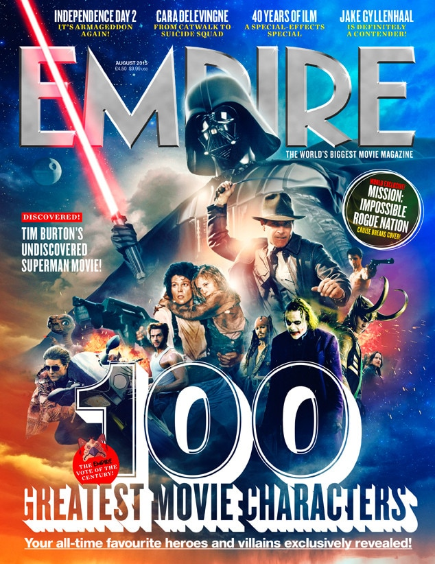Empire Magazine, 100 greatest movie character
