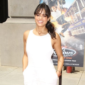 Michelle Rodriguez, Supercharged Ride, Universal Studios