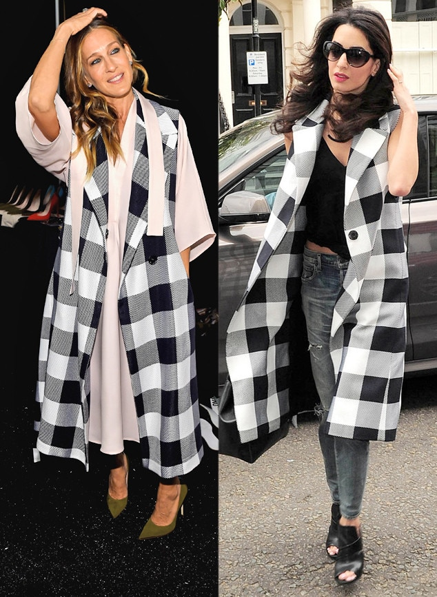 Sarah Jessica Parker Vs Amal Clooney From Bitch Stole My