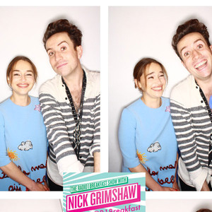 Emilia Clarke, Nick Grimshaw