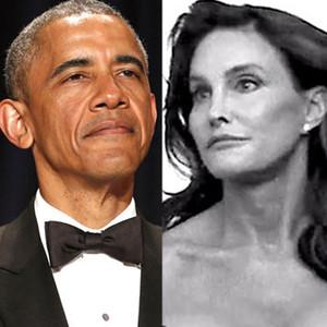 Barack Obama, Caitlyn Jenner, Bruce Jenner