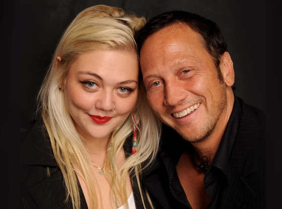 ?Elle King with her biological father Rob Schneider
