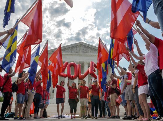 SCOTUS gay marriage ruling celebration