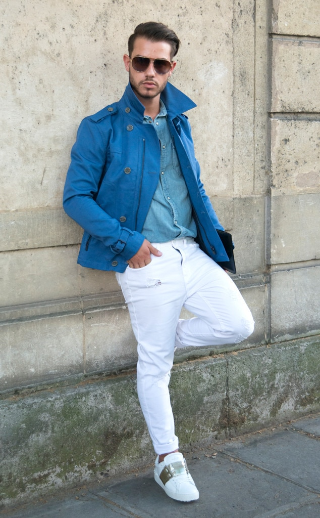 Hass Murad From Men 39 S Fashion Week Street Style E News