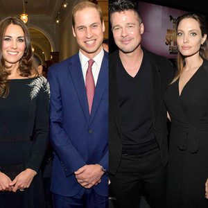 Catherine, Duchess of Cambridge, Kate Middleton, Prince William, Duke of Cambridge, Angelina Jolie, Brad Pitt