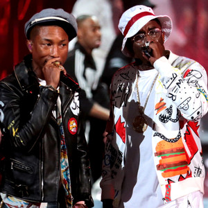 "Pharrell William, Sean ""Diddy"" Combs, 2015 BET Awards"