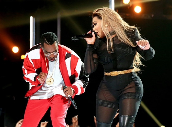 "Sean ""Diddy"" Combs, Lil' Kim, 2015 BET Awards"