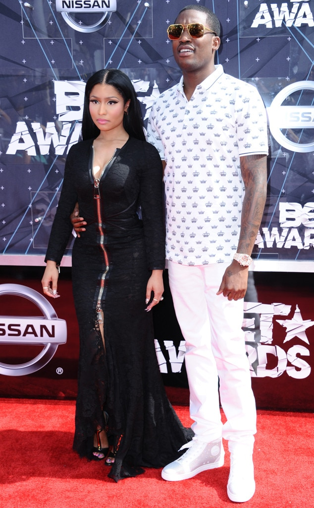 Nicki Minaj, Meek Mill, 2015 BET Awards