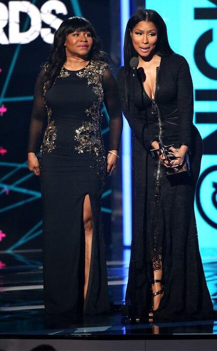 Nicki Minaj, Carol Maraj, 2015 BET Awards