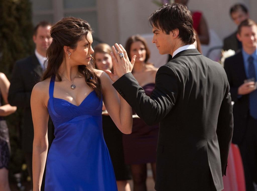 Damon, Elena, Dance, The Vampire Diaries
