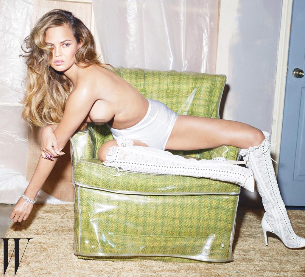 Chrissy Teigen, W Magazine