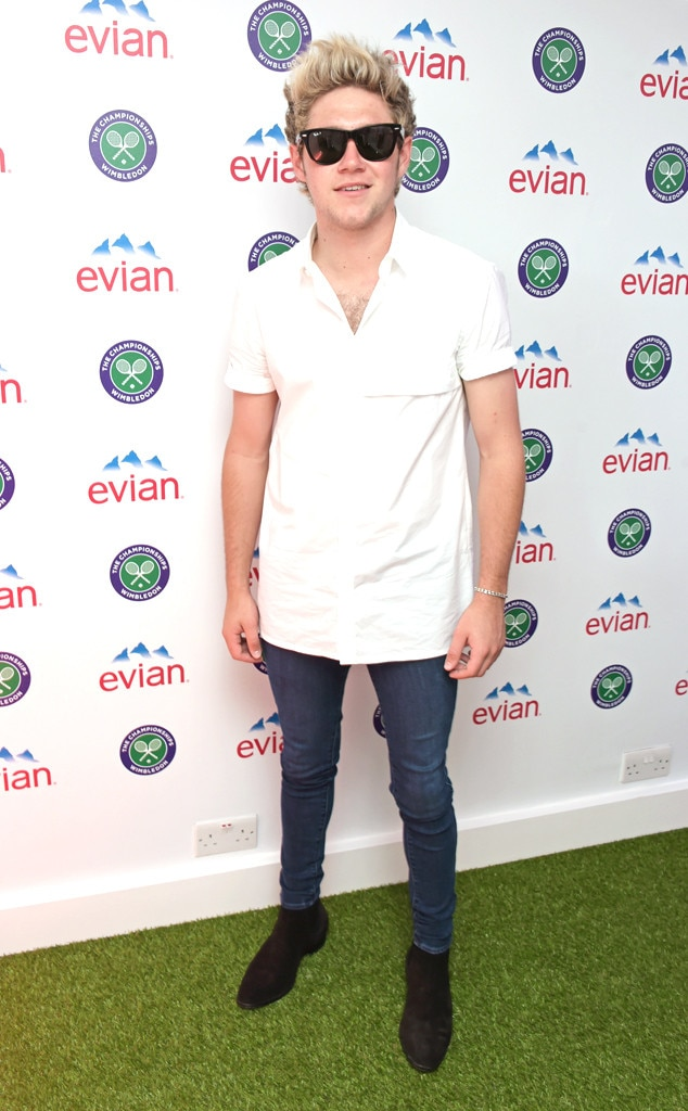 Niall Horan, Celebs at Wimbledon
