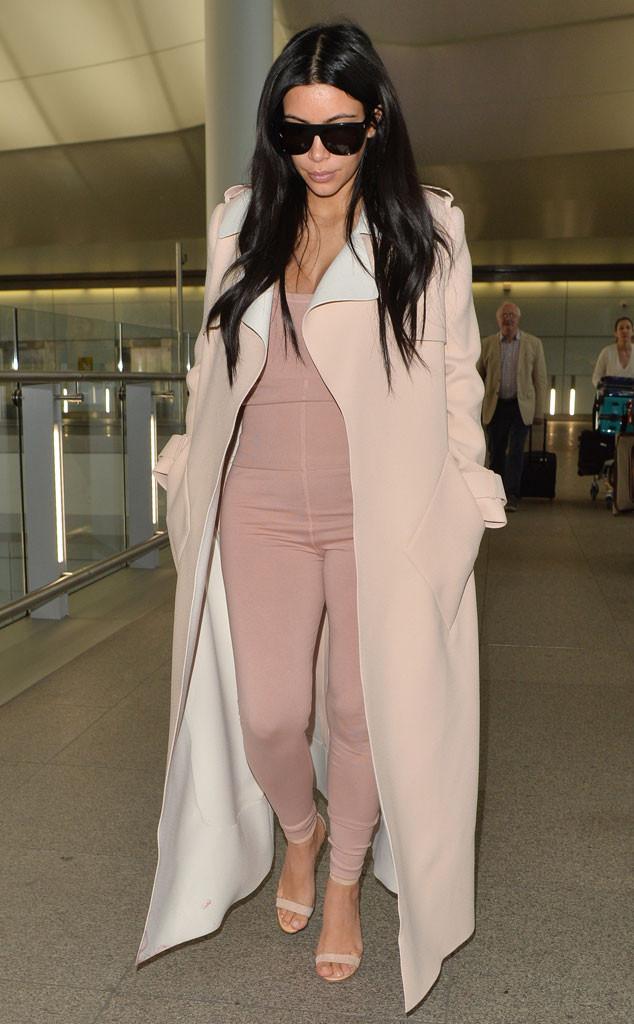 Kim Kardashian, Pink Unitard