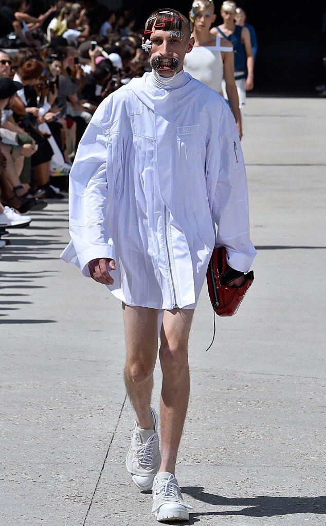 Hood By Air Paris Fashion Week Menswear Spring Summer 2016 From Wackiest Runway Looks Ever E