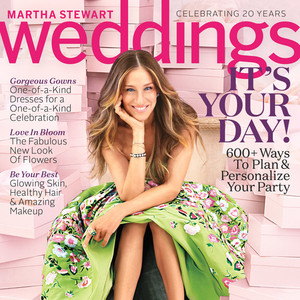 Martha Stewart Weddings, Sarah Jessica Parker