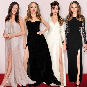 Angelina Jolie, Leg Baring Looks