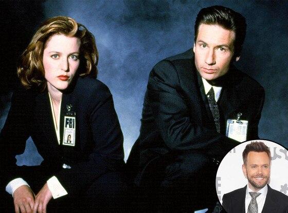 X-Files, David Duchovny, Gillian Anderson, Joel McHale