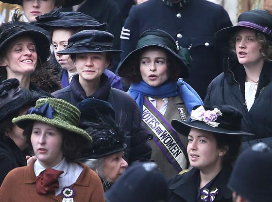 Carey Mulligan, Helena Bonham Carter, Suffragette