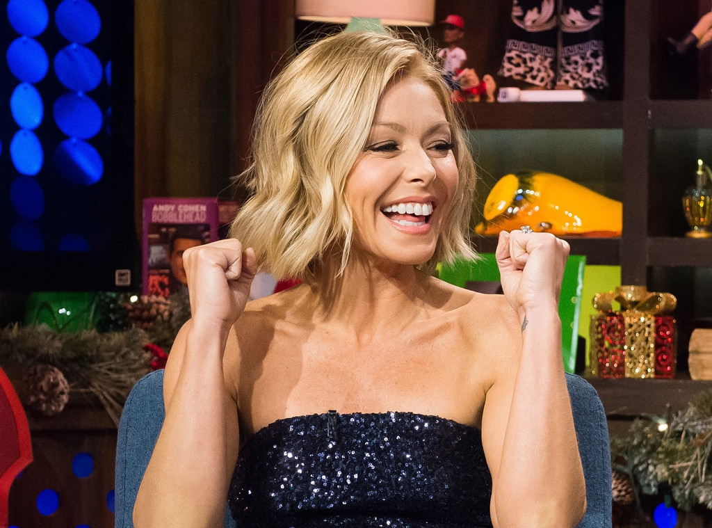 kelly ripa gymnastics