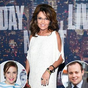 Sarah Palin, Lena Dunham, Josh Duggar
