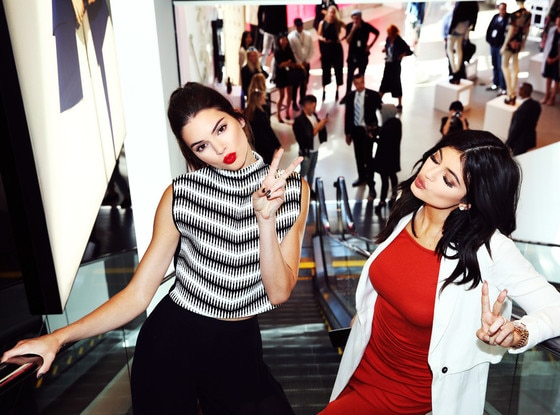 Kendall and Kylie Jenner's Topshop Collection images