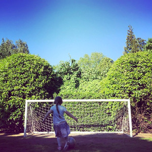 Harper Beckham, Soccer, Football