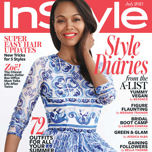 Zoe Saldana, InStyle Magazine