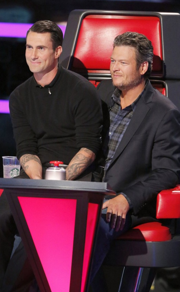 Blake Shelton, Adam Levine, The Voice, Bromance