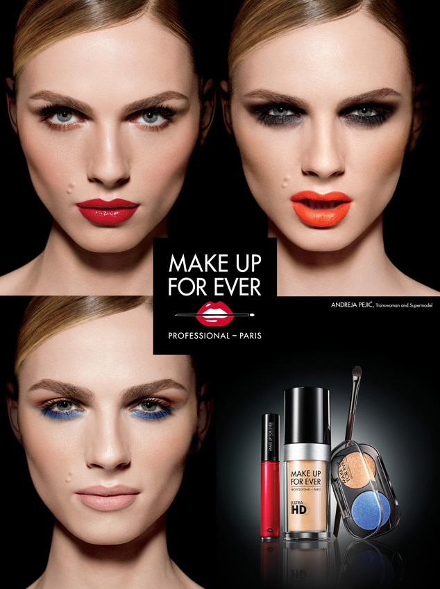 Andreja Pejic, Jaime Chung, Make Up Forever