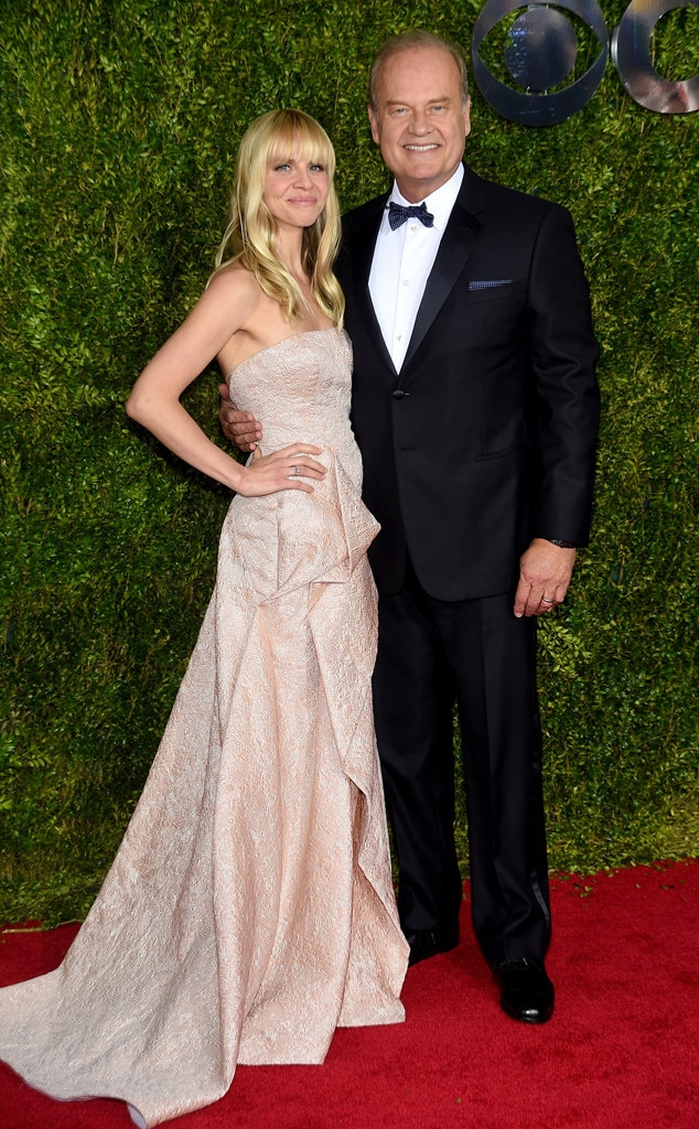 Kelsey Grammer, Kayte Walsh, 2015 Tony Awards