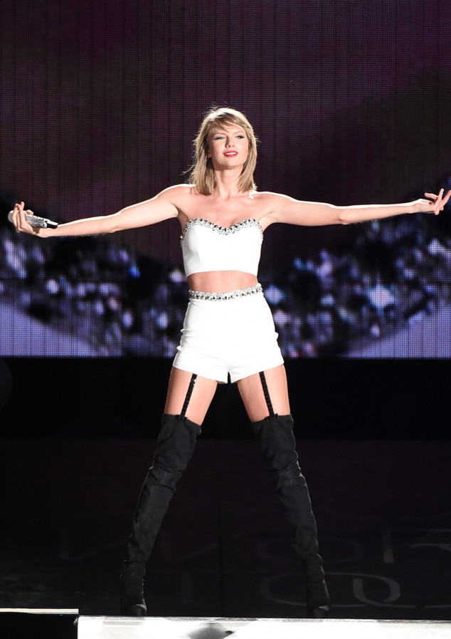 Sexy Garters from Taylor Swift's Fierce 1989 Tour Looks ...