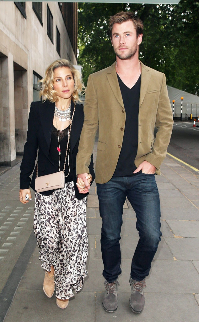 chris hemsworth and elsa pataky have a double date with