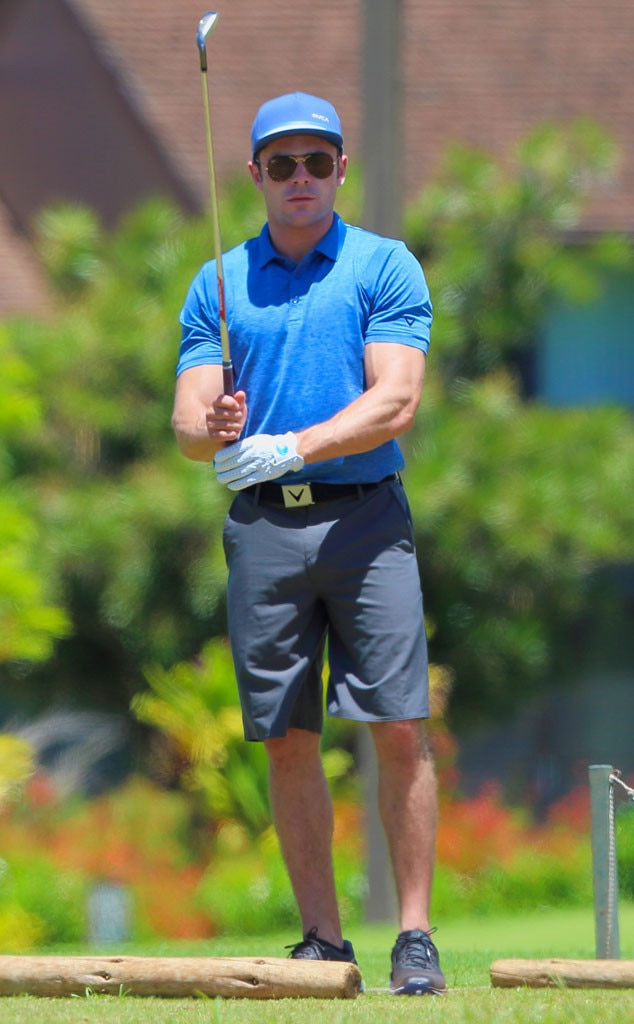 ... Bulging Biceps and Incredible Golf Swing in Slow-Mo Video! | E! News