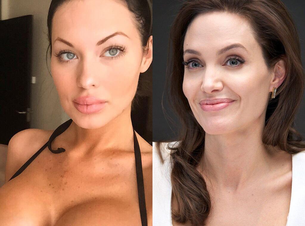 Veronika Black, Angelina Jolie, Doppelganger